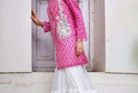 Nida Azwer Festive Season Collection Fancy Dresses 2016-17 4