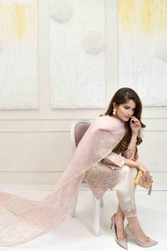 Farah Talib Aziz Eid Modern Collection For Woman 2017