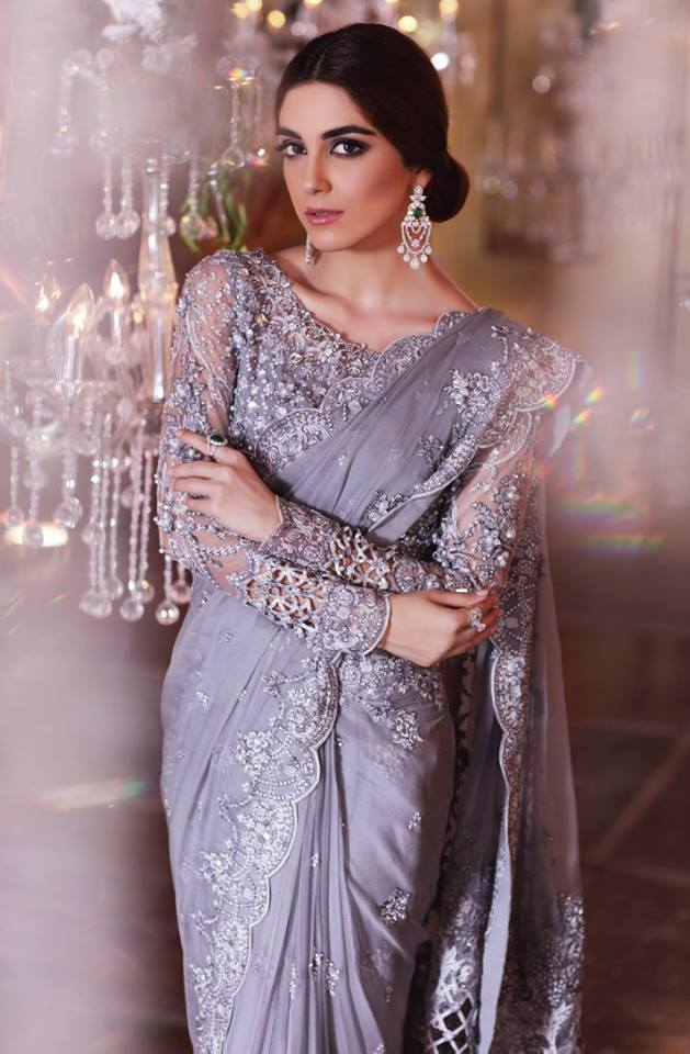 14d0268844 Maria B MBroidered Unstitched Eid Collection 2017 - Fashionvilas.com