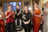 Maria B Summer Fancy Dresses Launched On Ramp 2017-18