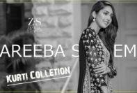 Areeba Saleem Kurtis ZS Textiles Fall Collection 2017-18