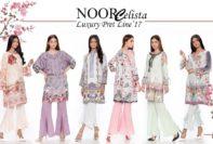 Noor Luxury Pret Dresses Saadia Asad Collection 2018