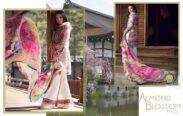 Sayuri Farah Talib Aziz Luxury Lawn Collection 2018