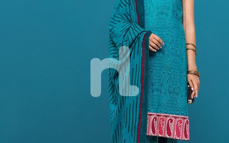 Nishat Linen Winter Shawls 3 Piece Collection 2019