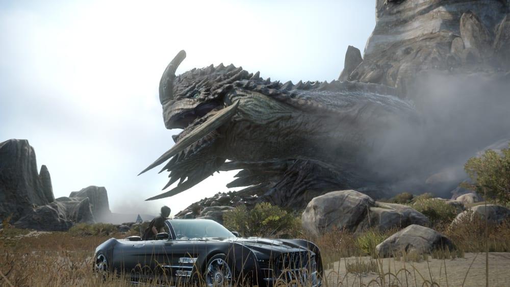 Final Fantasy XV's 72-hour boss Adamantoise
