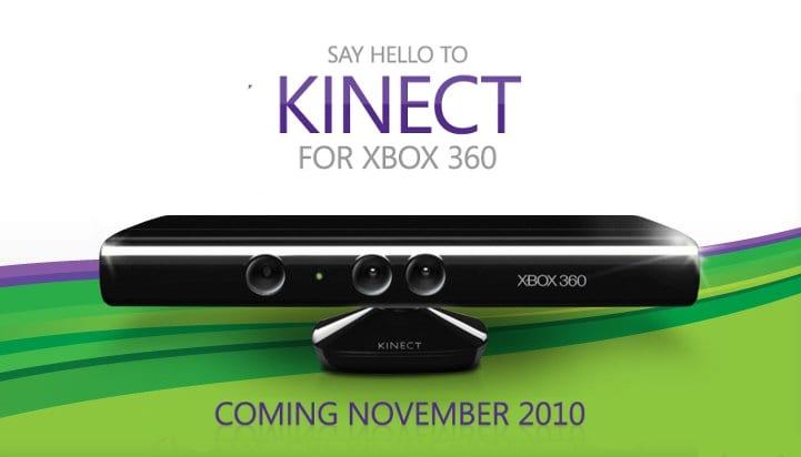 Microsoft Kinect ad
