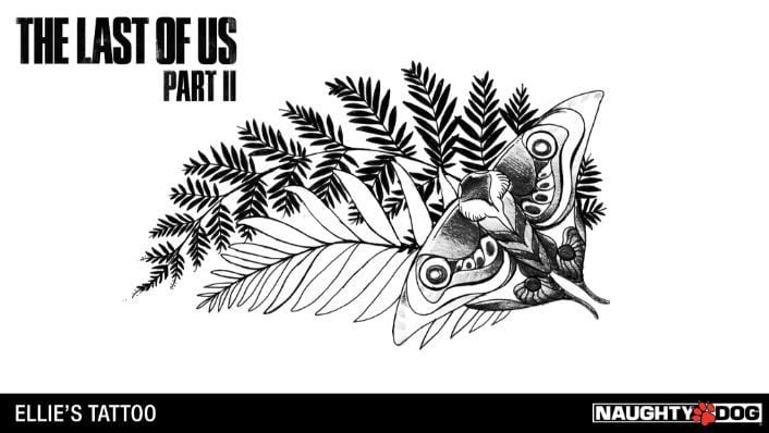Ellie's Tattoo The Last of Us: Part 2