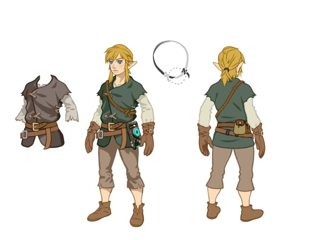 More Legend Of Zelda Breath Of The Wild Concept Art