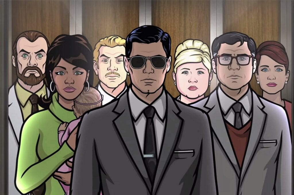 Archer and crew