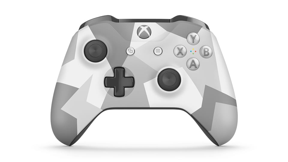 Xbox One Controller Color Scheme - Winter Forces