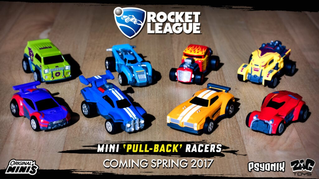 Rocket League Cars