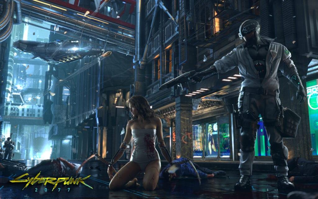 Cyberpunk 2077 development