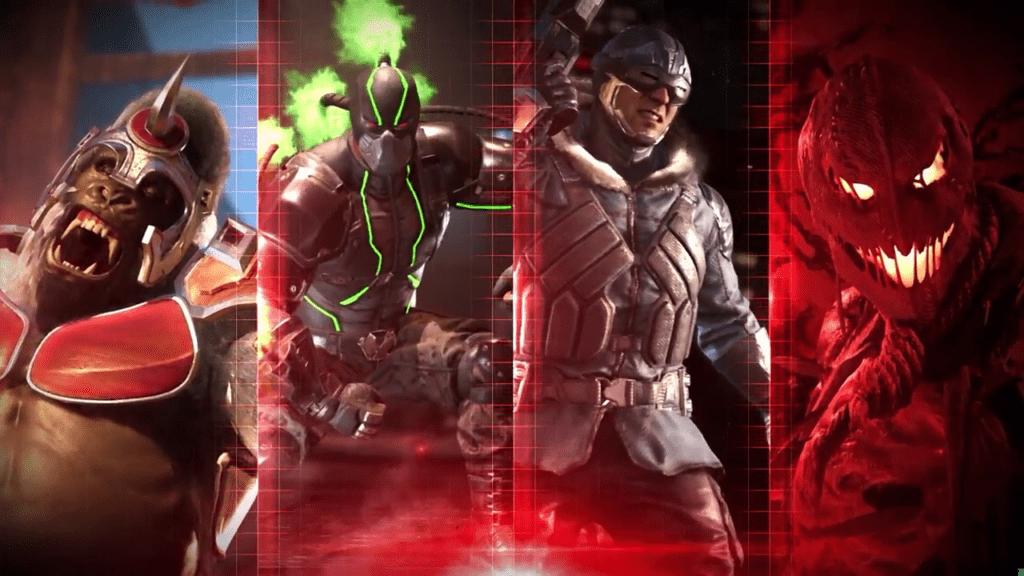 injustice 2 reveal villains