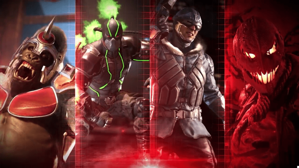 injustice 2 reveal villains