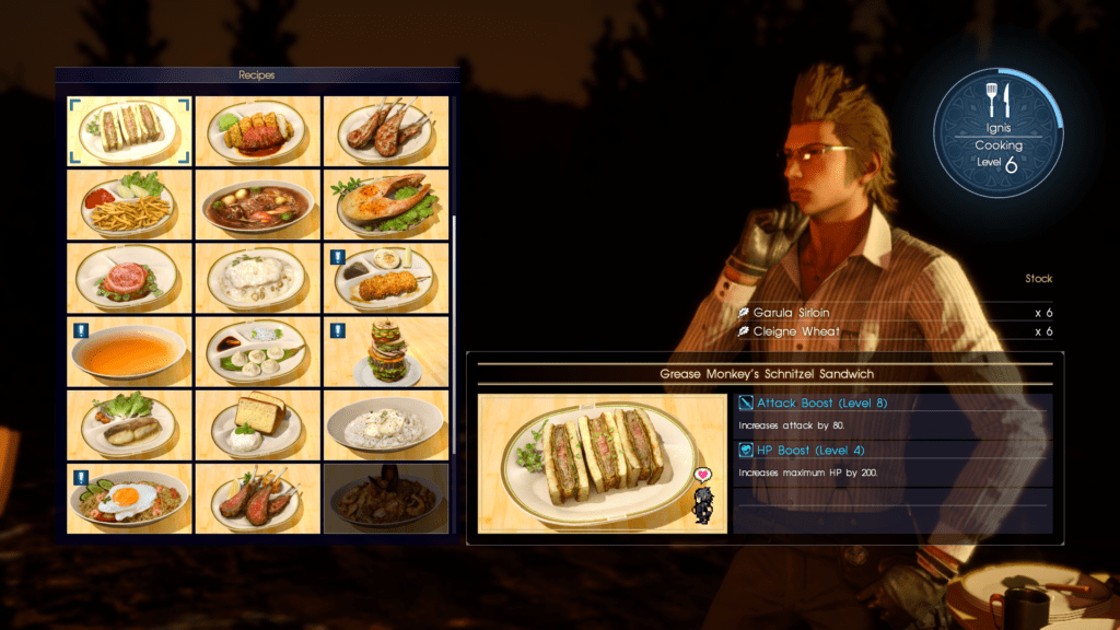 Final Fantasy 15 Update