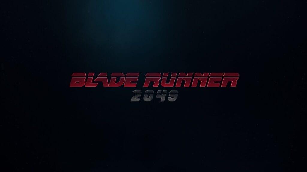 Blade Runner 2049 teaser