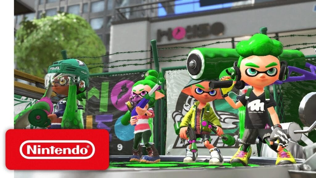 Splatoon 2 trailer