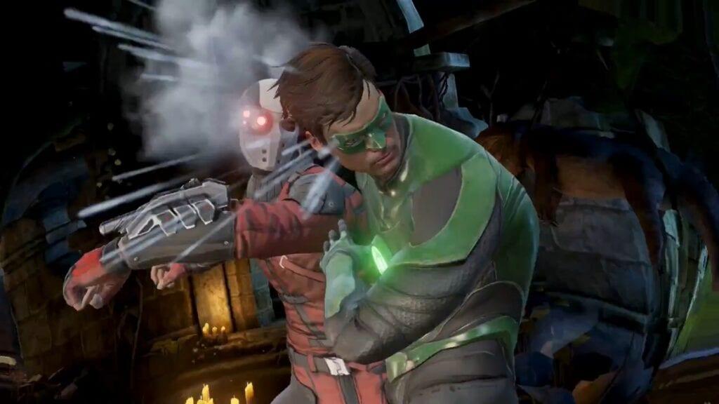 injustice 2 mobile deadshot green lantern