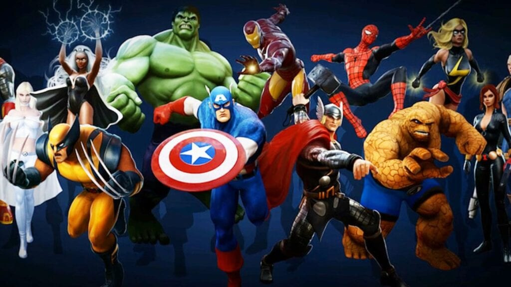 Marvel Mobile Game