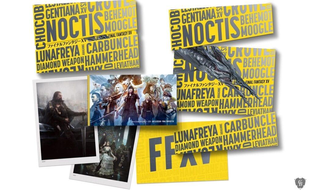 Final Fantasy 15 Art Book