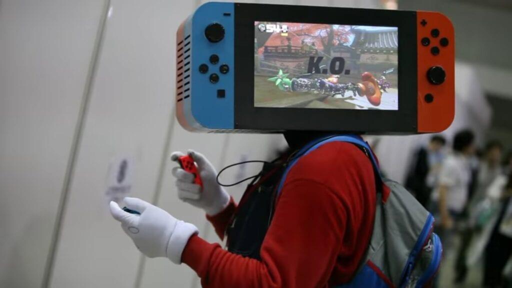 Nintendo Switch cosplay