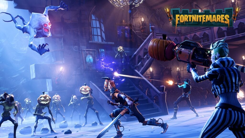 Fortnite Halloween Update
