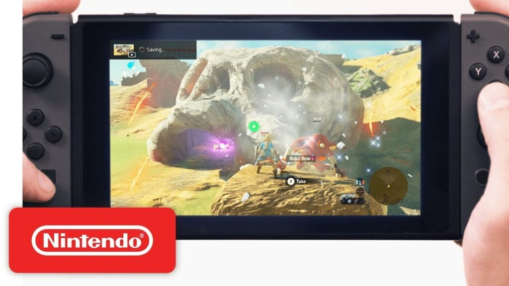 Switch Video Capture Button