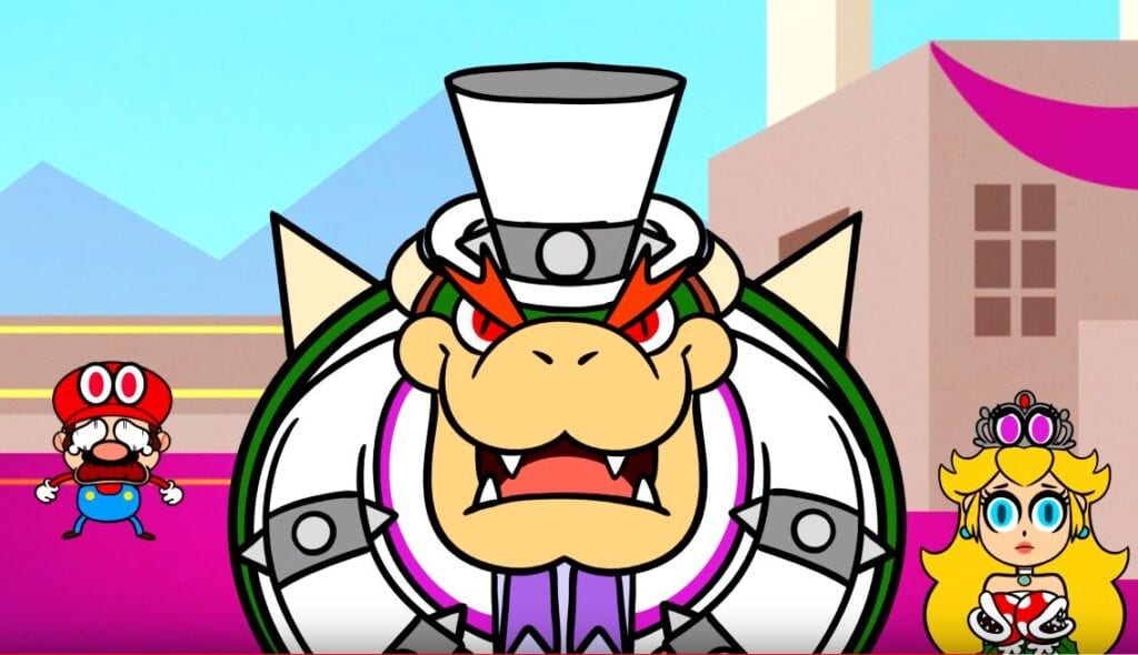 Super Mario Odyssey Married With Koopas That Makes