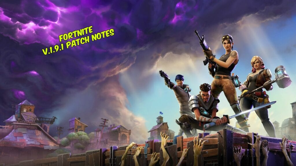 Fortnite Patch
