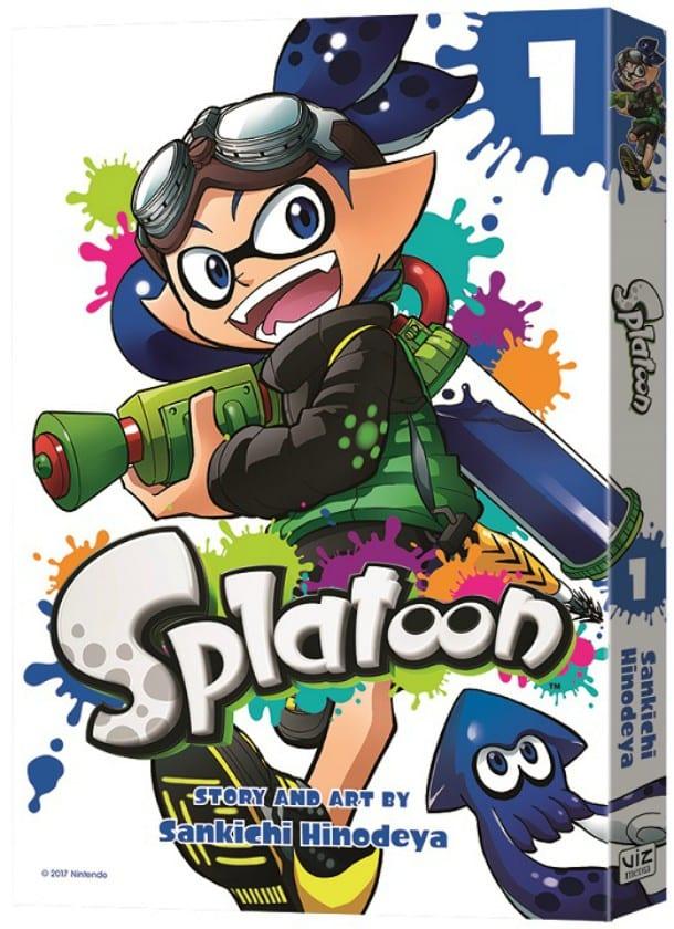 Splatoon manga