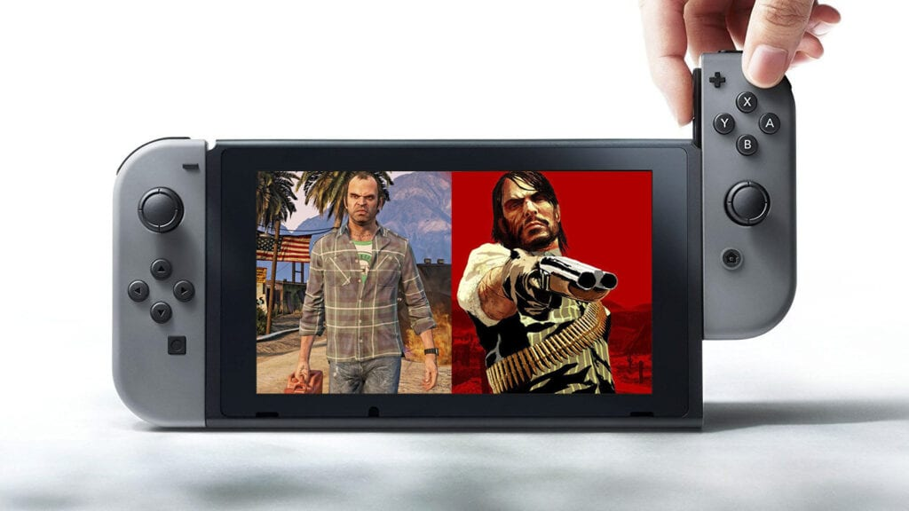 Switch Grand Theft Auto V