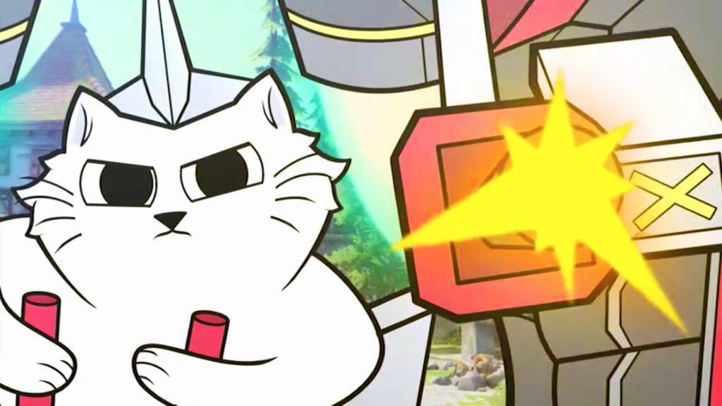 Fan-Made Overwatch Jetpack Cat Origin Story