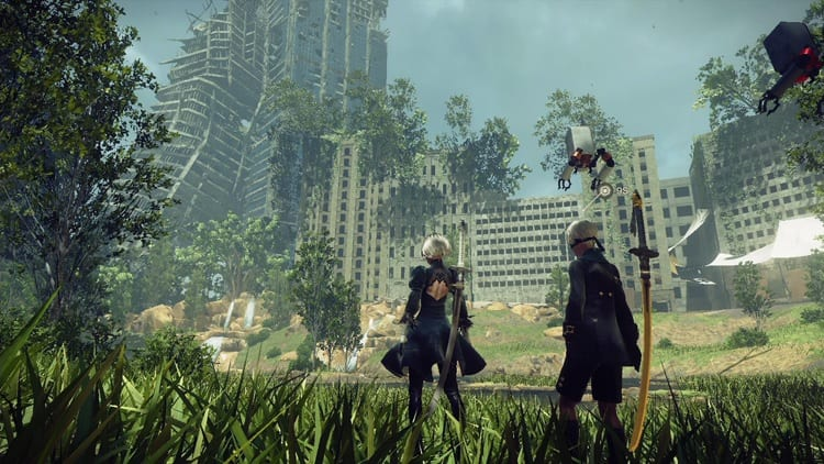 NieR: Automata Director Yoko Taro Discusses The Importance Of Making Gamers 'Feel Free'