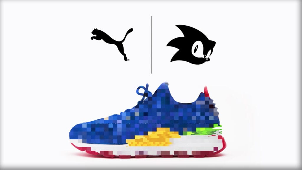 Sonic the Hedgehog Puma