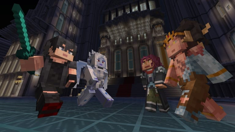 Final Fantasy XV Skin Pack Announced For Minecraft