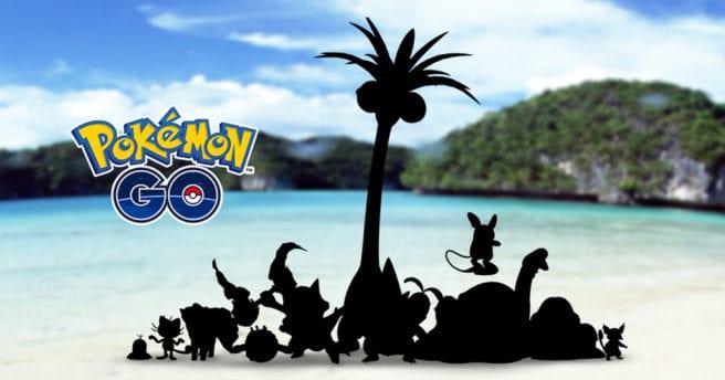 Pokémon Go Alola Forms