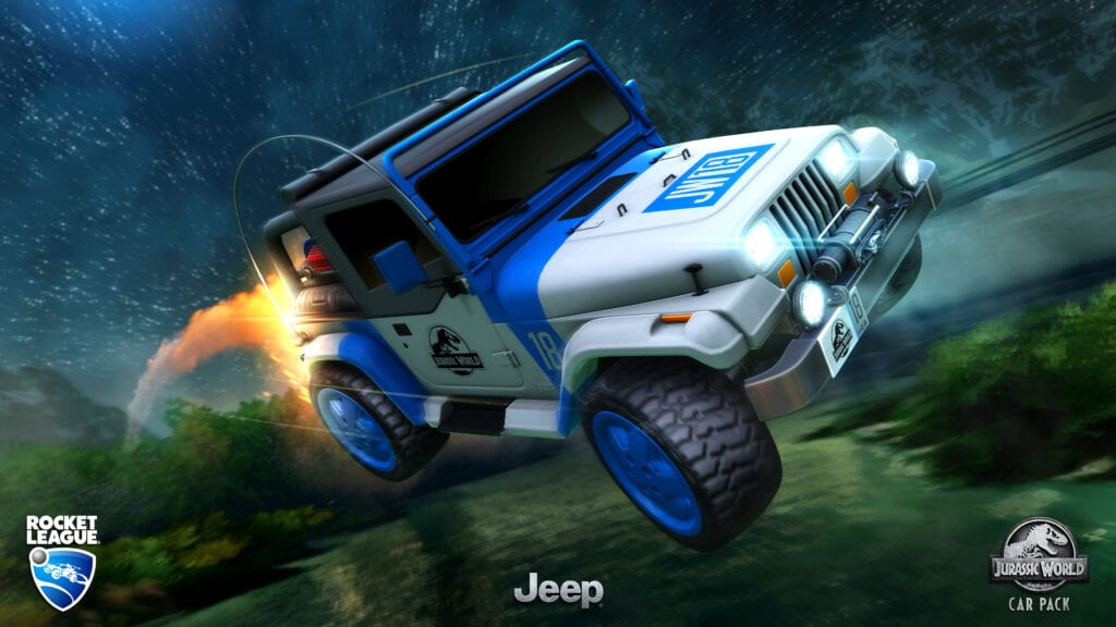 Rocket League Jurassic World Car Pack DLC Now Available (VIDEO)