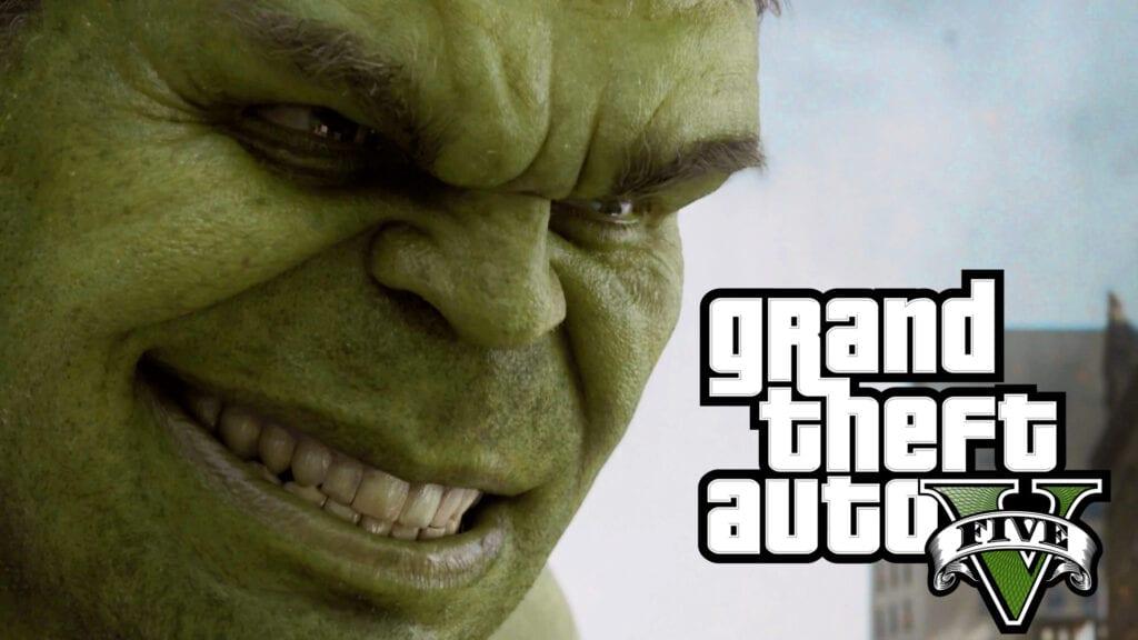 GTA 5 Hulk