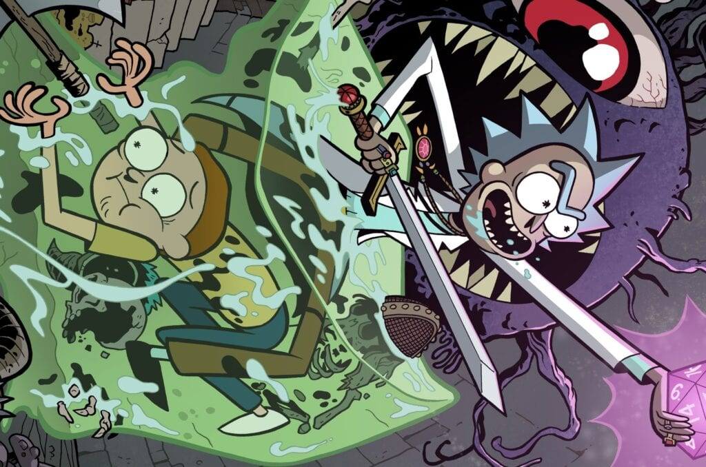 Rick and Morty vs Dungeons & Dragons