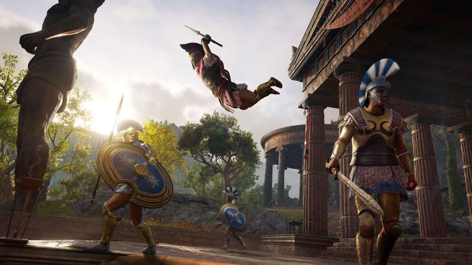 Assassin's Creed Odyssey Leap