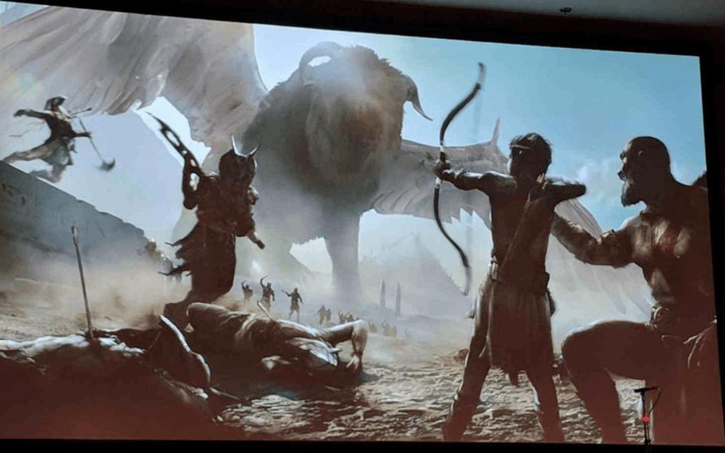 God of war Egypt Concept Art