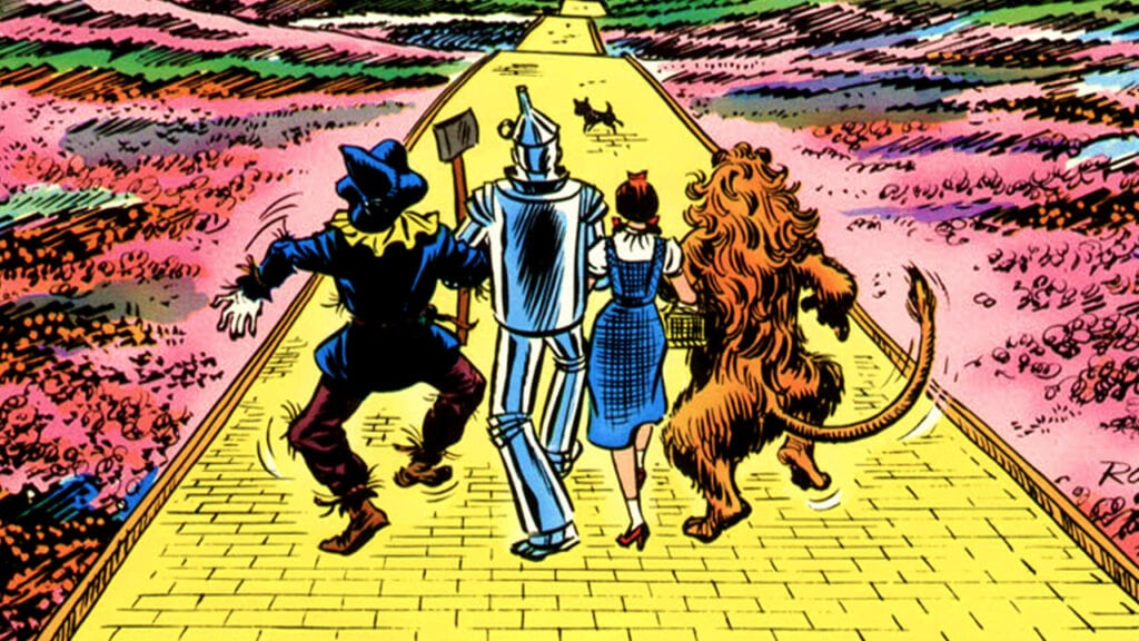 Marvel DC Crossover The Wizard Of Oz