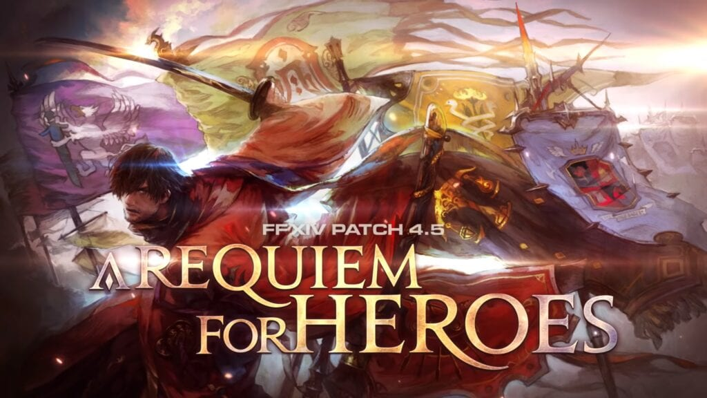 Final Fantasy XIV Patch 4.5 - A Requiem For Heroes Trailer Revealed (VIDEO)
