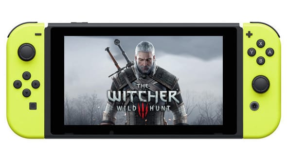 The Witcher 3 Nintendo Switch Listing Discovered Online