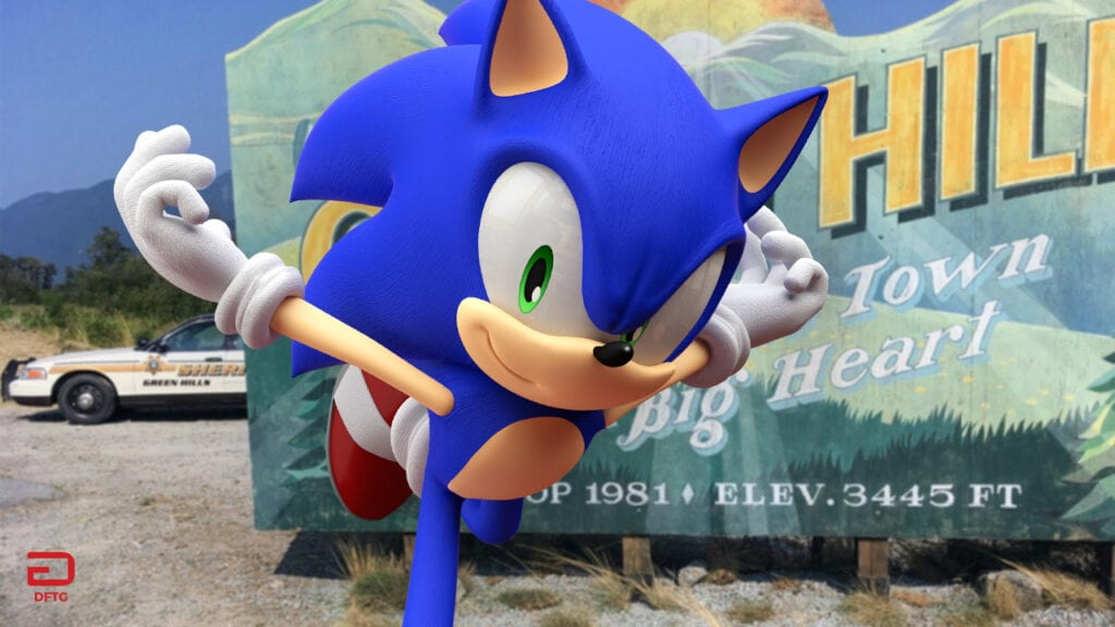 Live-Action Sonic The Hedgehog Movie Reveals First Footage