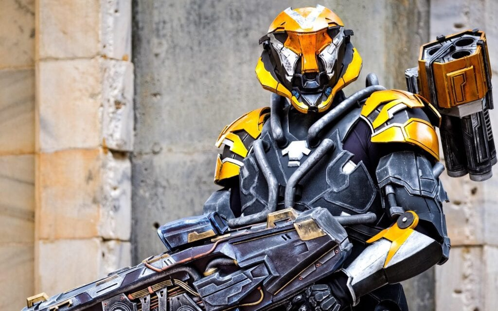 Ranger Javelin Cosplay