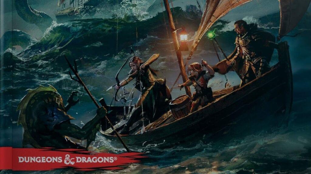 Dungeons & Dragons Reveals 'Ghosts Of Saltmarsh' Nautical Adventure