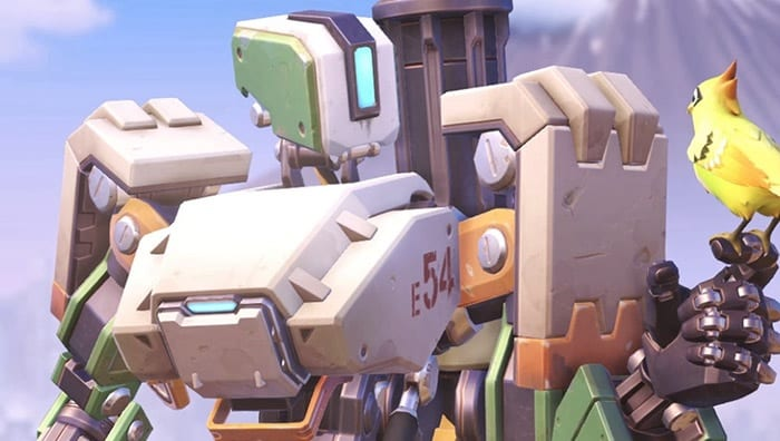 Apex Legends Has an Adorable Overwatch Bastion Tribute