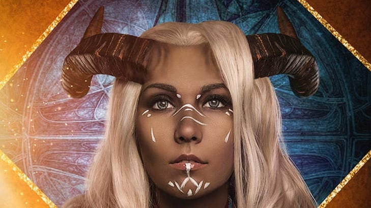 Dragon Age Inquisition Cosplay Shows Off Stunning Qunari Inquisitor