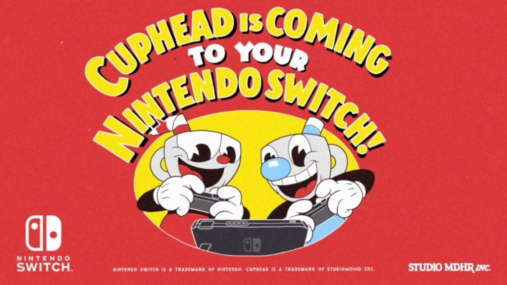 Cuphead Announced For Nintendo Switch, Still No PS4 (VIDEO)